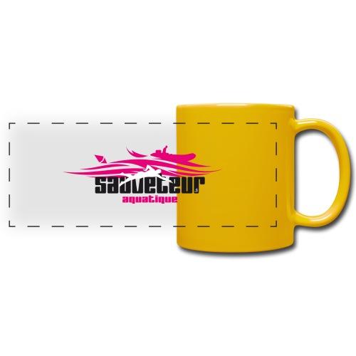 sauveteur aquatique - Mug panoramique uni
