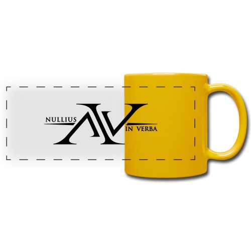 Nullius In Verba Logo - Full Colour Panoramic Mug
