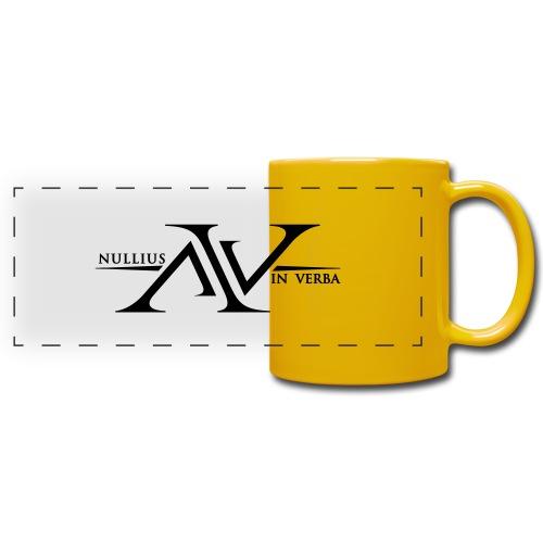 Nullius In Verba Logo - Full Colour Panoramic Mug