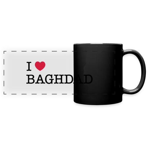 I LOVE BAGHDAD - Full Colour Panoramic Mug