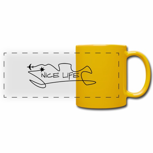 Nice Life - Tazza colorata con vista