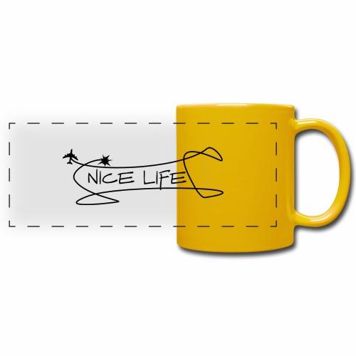 nice life 2 - Tazza colorata con vista