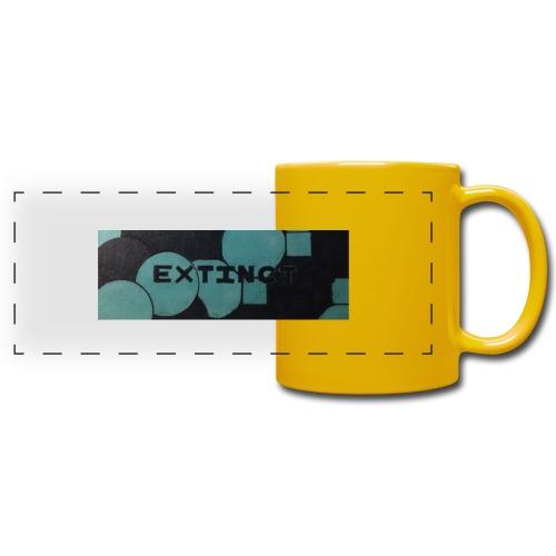 Extinct box logo - Full Color Panoramic Mug
