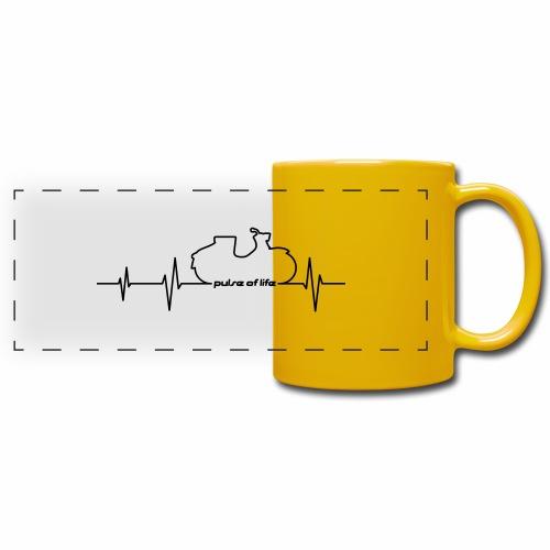 Simson KR50 EKG - Pulse of Life - Full Color Panoramic Mug