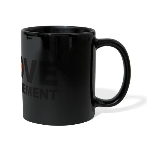 j aime le confinement - Mug panoramique uni