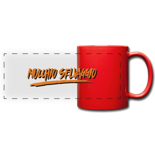 Mucchio Selvaggio 2016 Dirty Orange - Tazza colorata con vista