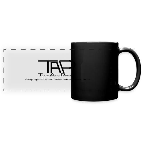TAPLogoItem black - Full Colour Panoramic Mug