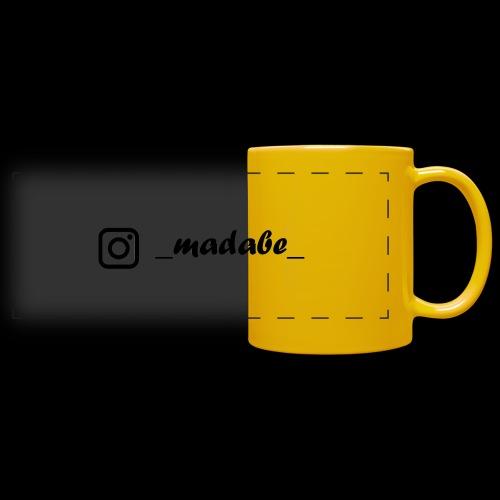 madabe instagram - Panoramatasse farbig