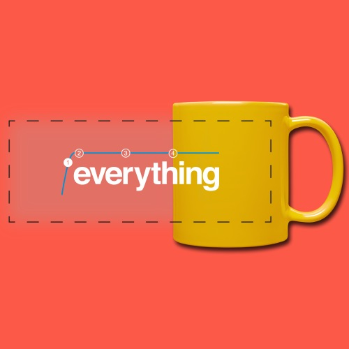 Lowcut Everything - Full Color Panoramic Mug