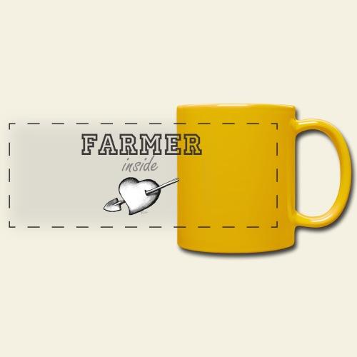 Hearth farmer - Tazza colorata con vista