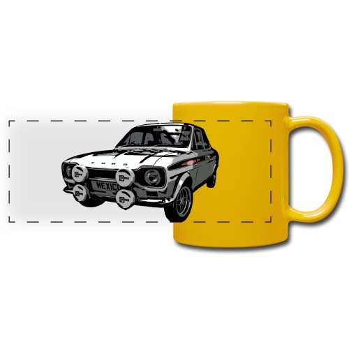 Mk1 Escort - Full Colour Panoramic Mug