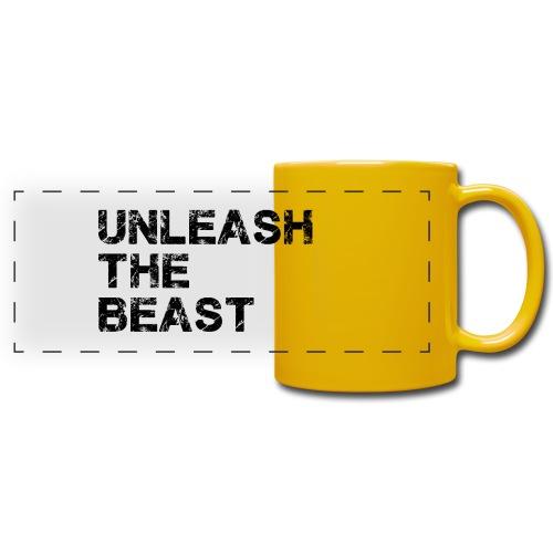 UnleashTheBeast - Mug panoramique uni
