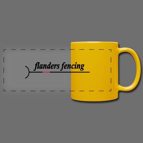Flanders Fencing - Panoramamok gekleurd
