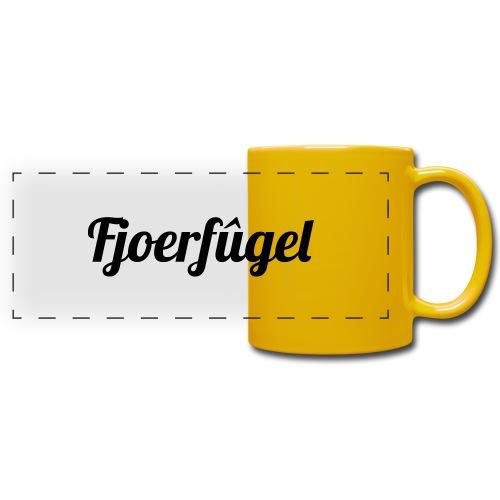 fjoerfugel - Panoramamok gekleurd