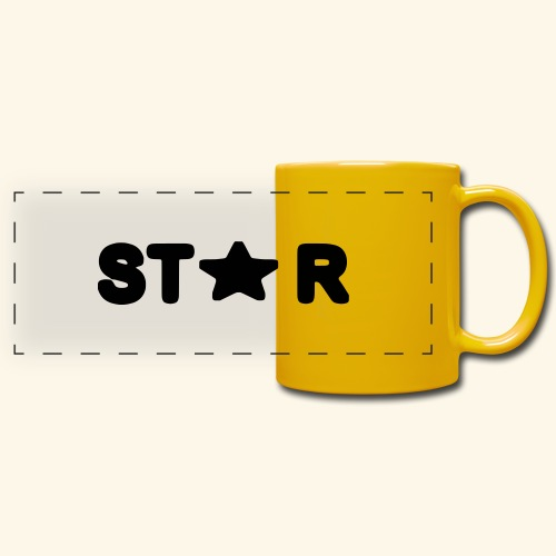 Star of Stars - Full Color Panoramic Mug