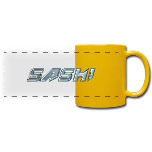 SASH! Logo 2 - Full Color Panoramic Mug