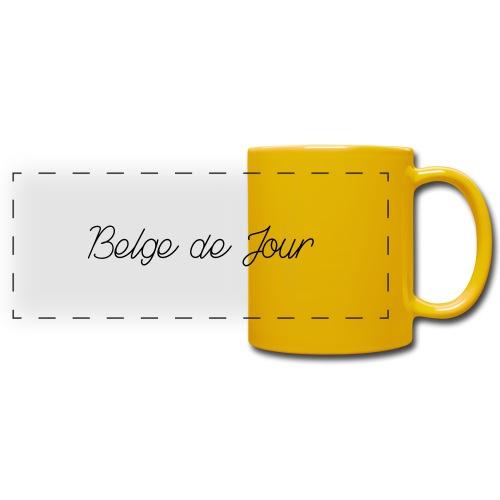 Belge de jour - Mug panoramique uni