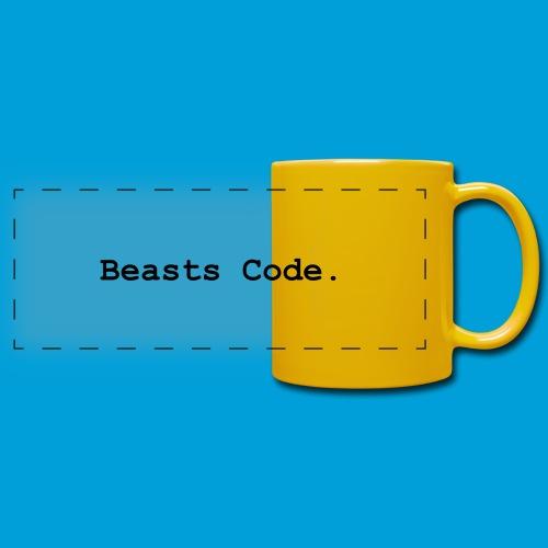 Beasts Code. - Full Colour Panoramic Mug