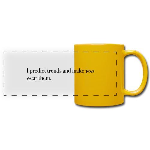PREDICT TRENDS - Full Color Panoramic Mug