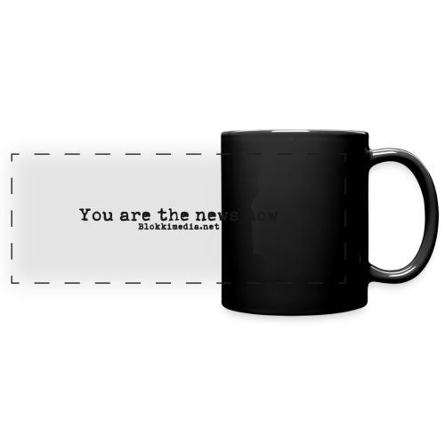 You are the news now / Blokkimedia - Panoraamamuki värillinen