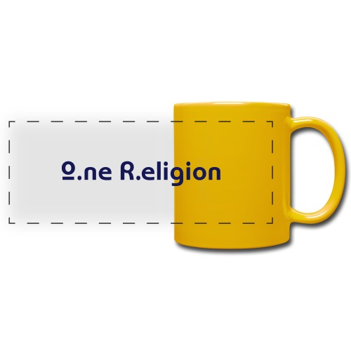 O.ne R.eligion Only - Mug panoramique uni