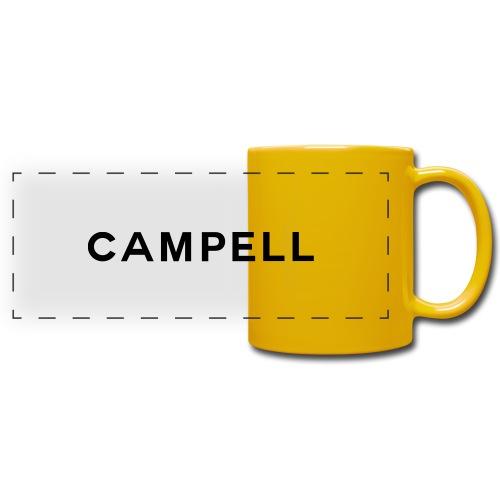 campell schriftzug2 - Panoramatasse farbig