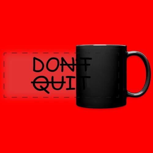 Don't Quit, Do It - Panoramakrus, farvet