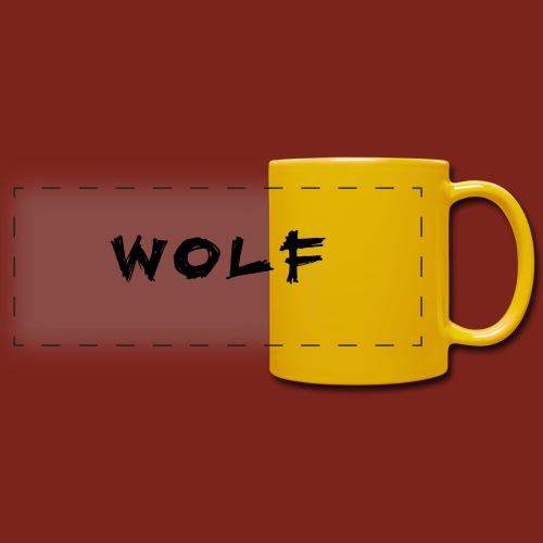 Wolf Font png - Panoramamok gekleurd