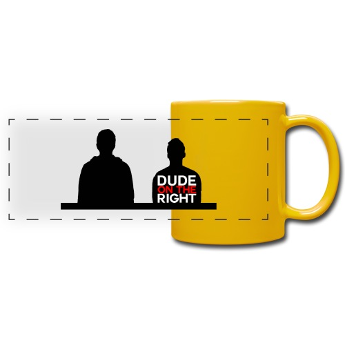 RIGHT. - Full Color Panoramic Mug