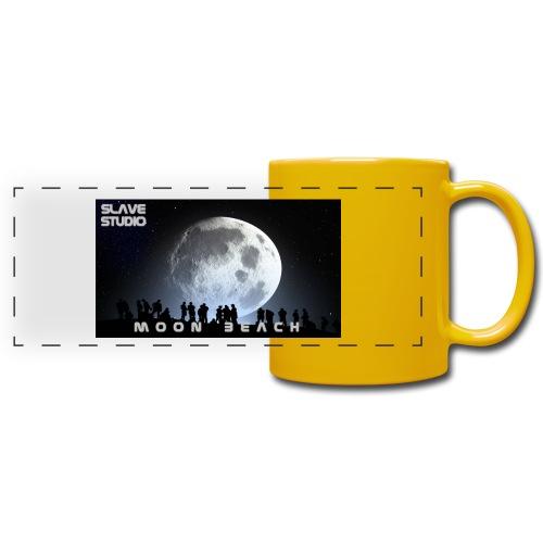 Moon beach - Tazza colorata con vista