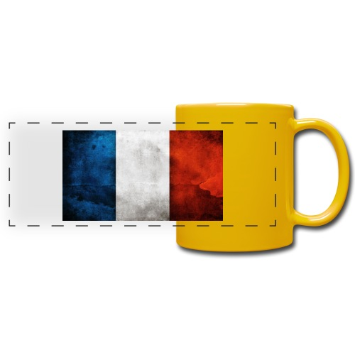 France Flag - Full Color Panoramic Mug
