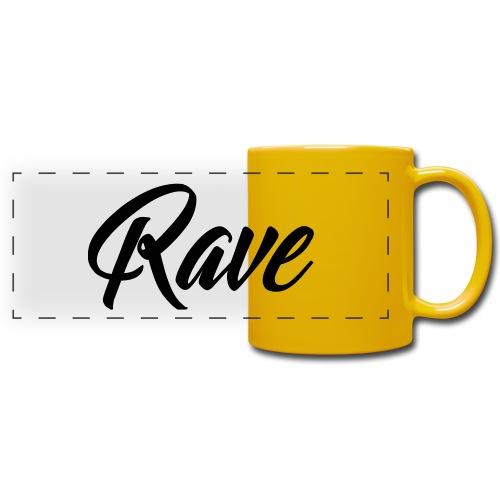 Rave - Panoramatasse farbig