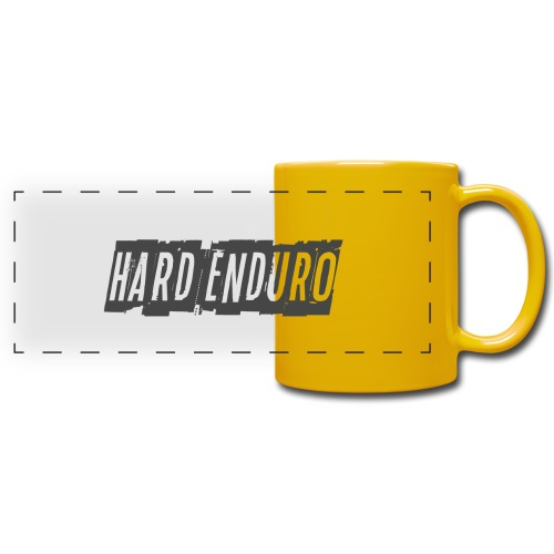 Hard Enduro - Full Color Panoramic Mug