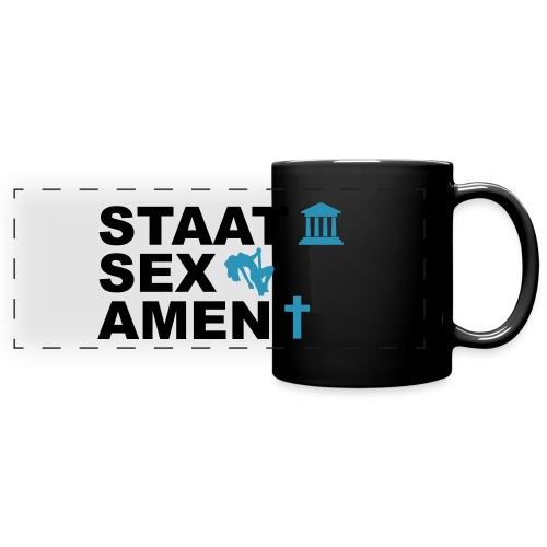 Staatsexamen / Staat Sex Amen - Panoramatasse farbig