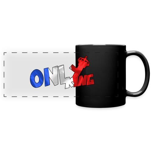 Logo ONLY KING edition francaise - Mug panoramique uni