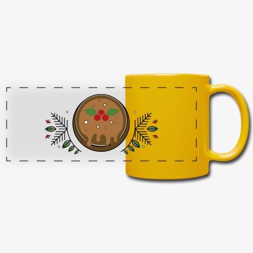 CHRISTMAS PUDDING - Full Color Panoramic Mug