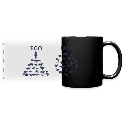 Ego VS Eco - Tazza colorata con vista