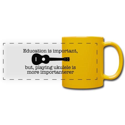 Important Ukulele - Full Color Panoramic Mug