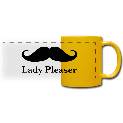 Lady Pleaser T-Shirt in Green - Full Color Panoramic Mug