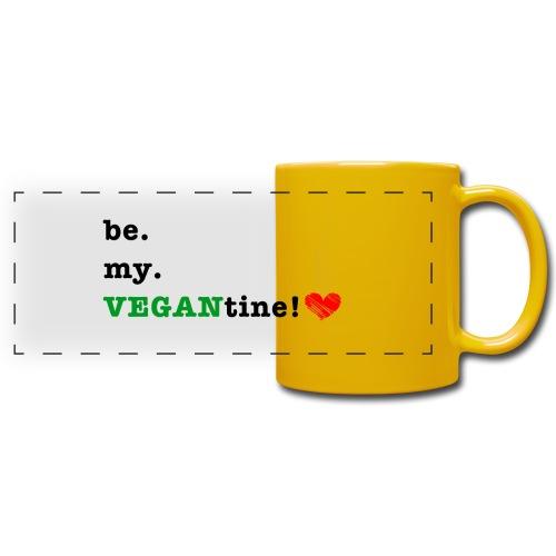 VEGANtine Green - Full Color Panoramic Mug
