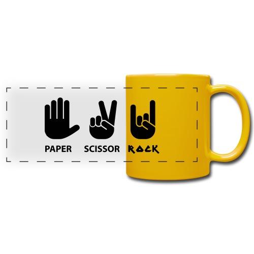 paper scissors rock c - Panoramamok gekleurd