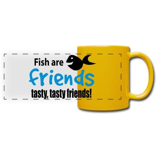 Fisk er venner - Panoramakopp i farge