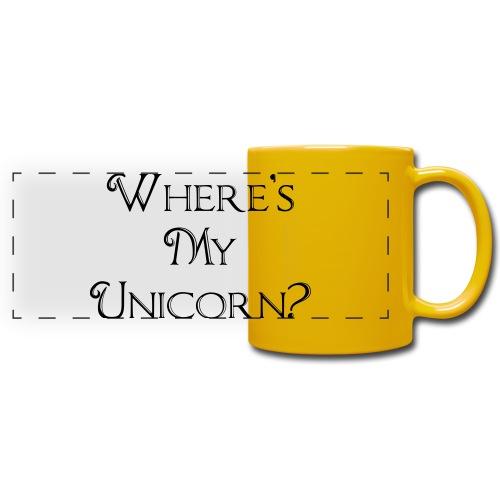 Where's My Unicorn - Full Color Panoramic Mug