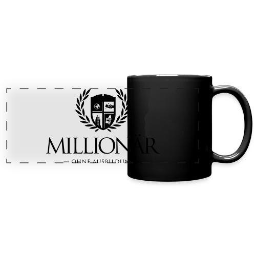 Millionär ohne Ausbildung Jacket - Panoramatasse farbig