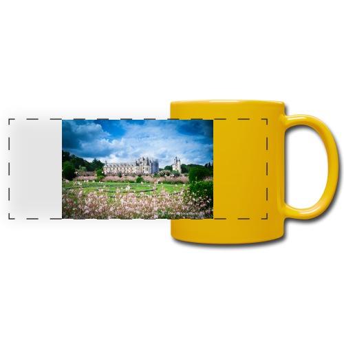Barbara Mapelli - Castello di Chenonceau, Francia - Tazza colorata con vista