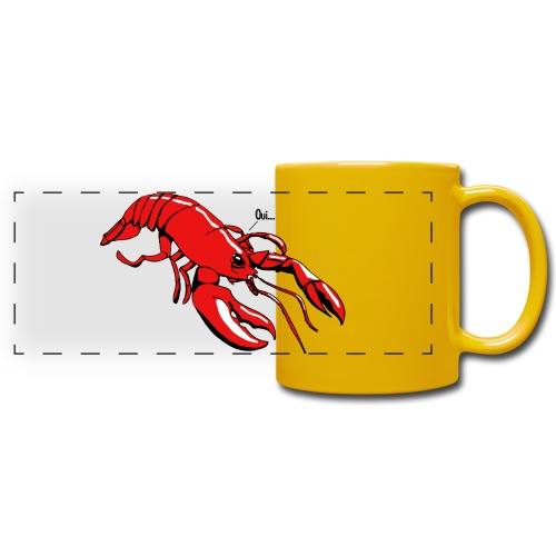 Lobster - Full Colour Panoramic Mug