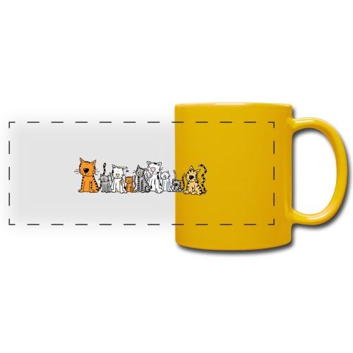 Cats & Cats - Panoramamok gekleurd