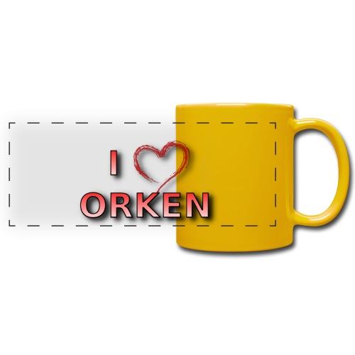 ILOVE-ORKEN - Panoramatasse farbig