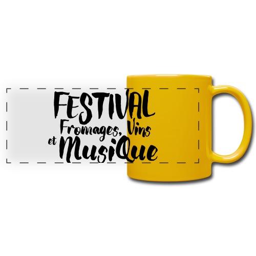 Festival FVM - Mug panoramique uni