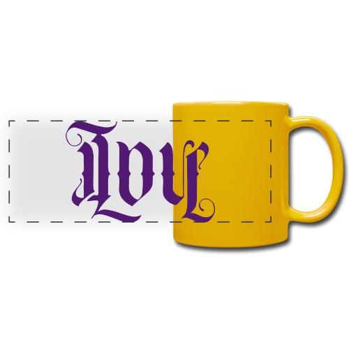 Love and hate - Full Color Panoramic Mug